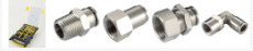 KELM Micro One Touch NPT & UNF Plastic Push-in Fittings