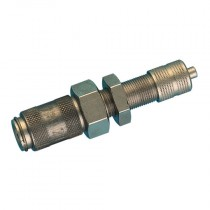 3x4mm Series 20KA, Panel Mount, Quick Fit Tube Connection Coupling