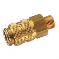 "1/4"" BSPP Male Thread Series 21KB Coupling"