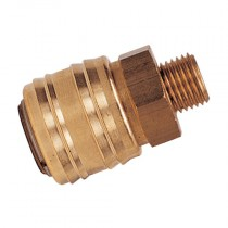 """1/4"""" BSPP Male Thread Series 26KB Coupling"""