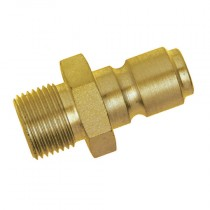 """3/8"""" BSPP Male Thread Series 45KF Water Manual Plug, with Hardened Case"""