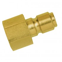 """3/8"""" BSPP Female Thread Series 45KF Water Manual Plug, with Hardened Case"""