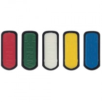 """White Type 6920 Colour Coded Handle Inserts, for 1/8"""", 1/4"""", 3/8"""" Valve"""
