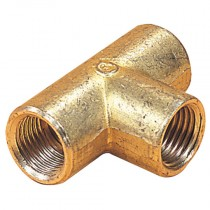 """1/4"""" x 1/8"""" BSPP Enot Compression Female Tee Adaptor"""
