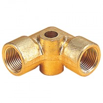 12mm Enot Compression Bracketed Elbow Connector