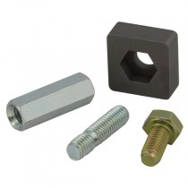 Series 10 Standard Bolt Clamp Components, 50 Pairs