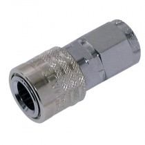"""1/8"""" BSPP T2300 Series Nitrile Coupling with Valve"""