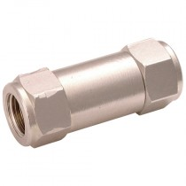 """1/8"""" BSPP Brass Compact Non-Return Valves, with Viton Seals"""