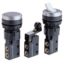 M5 - 3/2 Body with Electrical Style Adaptor, M/1553 In-Line