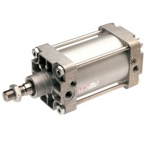 """32mm x 80mm - 1/8"""" Double Acting, 8000 Series VDMA/ISO 15552 Cylinder"""