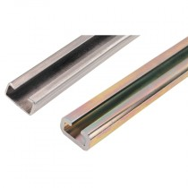 Series A & B, 2m, 14mm Depths, Clamping Rails, Stainless Steel