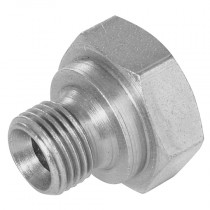 """1/4"""" BSPP 60° Cone Plug to DIN 3852 Form A"""