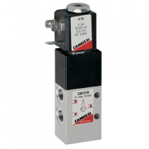 """1/8"""" 24V DC 3W 3/2 NC Series 3, Electro Pneumatically Operated Single Solenoid Valve"""