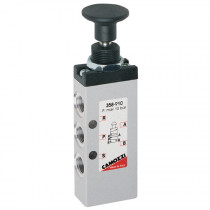 """1/8"""" 5/2 Push/Pull Knob Bistable Series 3, 4 & VMS Mechanically Operated Console Mini Valve"""