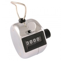 4 Figure Ratchet Tally Counter with Reset