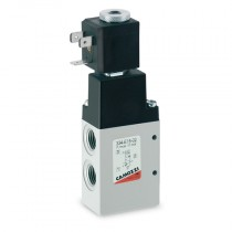"""1/4"""" 24V DC 5W 3/2 NC Series 3, Electro Pneumatically Operated High Flow Single Solenoid Valve"""