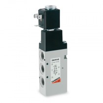 """1/4"""" 5/2 External Servo Series 3, Electro Pneumatically Operated High Flow Single Solenoid Valve, Valve Only"""