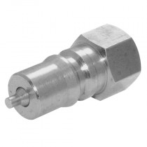 """1/4"""" BSPP Carbon Steel ISO B Interchange Plug with Nitrile Seals"""
