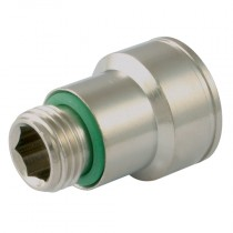 """3/8"""" BSPP DN12 Series, 521 Female Plug, Quick Coupling for Plastic Injection Moulding"""