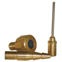 3 Piece Nozzle Kit for Use on Inflatables, Tyres & Footballs