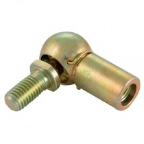 M8x1.25 x M6x1 Male/Female Mild Steel Ball Joints End Fitting for Gas Springs