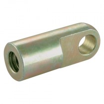 M6x1 - 8.1mm Mild Steel Flat Eyes End Fitting for Gas Springs
