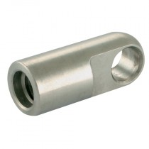 M8x1.25 - 8mm S/Steel Flat Eyes End Fitting for Gas Springs