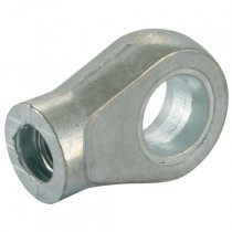 M8x1.25 - 10.3mm Zinc Eyes End Fitting for Gas Springs