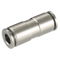10mm Tube Metal Push-In Equal Straight