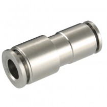 6mm x 8mm Tube Metal Push-In Unequal Straight