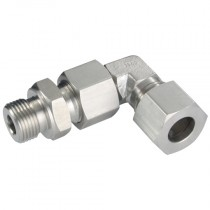 """8mm x 1/4"""" Adjustable Elbow, BSPP Male, L Series"""