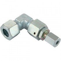 15mm x 10mm Light Duty, Reducing Elbow, Tube to Tube Coupling