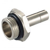"""6mm x 1/4"""" BSPP Metal Push-In Male Standpipe"""