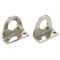 8/10mm ISO 6432 Foot Mounting LB, (Pair)