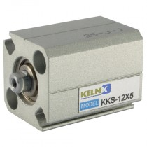 12mm x 5mm Double Acting Compact Magnetic Cylinder