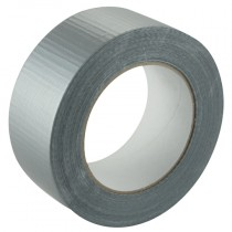 48mm Silver, Standard Duct Cloth Tape - 50m