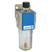 """1/8"""" BSPP 200 Series Lubricator supplied with Mounting Bracket"""