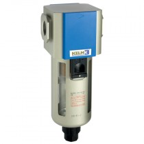 """3/8"""" BSPP 400 Series Filter Semi-Auto Drain, supplied with Mounting Bracket"""