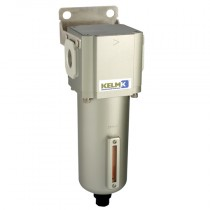 """1"""" BSPP 600 Series Filter Semi-Auto Drain, supplied with Mounting Bracket"""