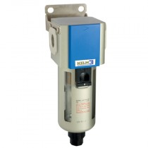"""3/8"""" BSPP 400 Series Filter Auto Drain, supplied with Mounting Bracket"""