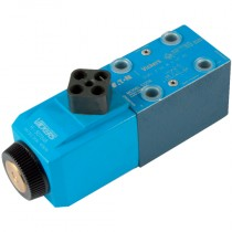 12v DC 2 Position, Spring Offset End to End, Water Resistant Override, Cetop 3 Single Solenoid Directional Control Valve
