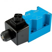 24v DC 2 Position, Spring Offset End to End, Water Resistant Override, Cetop 5 Single Solenoid Directional Control Valve