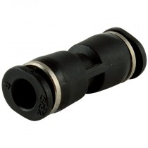 3mm Micro One Touch Plastic Push-In Straight Connector