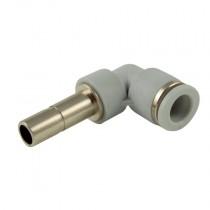 6mm Plastic Push-In 16 bar Rated, Tube x Stem Elbow