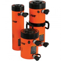 140 Ton Capacity x 203mm Double Acting, Hollow Centre Cylinder