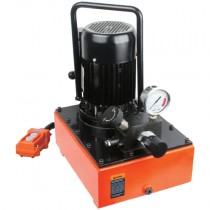 11.8L x 0.75 kW Solenoid Valve, Single Acting, Two Stage Electric Pump