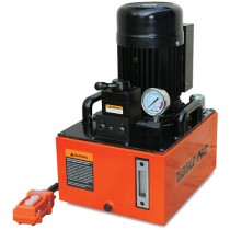 11.8L x 1.5 kW Solenoid Valve, Single Acting, Two Stage Electric Pump with Remote Control
