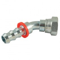 """1/2"""" x 1/2"""" BSPP 45° Elbow for Push Style Hose System"""