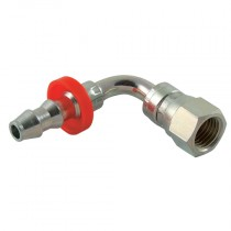 """1/4"""" x 1/4"""" BSPP 90° Elbow for Push Style Hose System"""