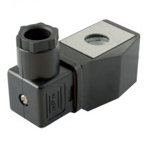 """24V DC Coil & Plug, Normally Closed to Suit 1/8"""", 1/4"""" BSPP to Suit K2W Direct Acting Valves"""